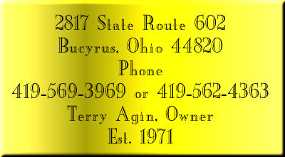 2817 State Route 602, North Robinson, Ohio, 44856, Phone 419-562-4363, Fax 419-562-4363